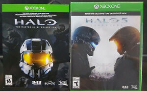 Halo 5 + Halo Master Chief Collection Xbox One (Sealed)