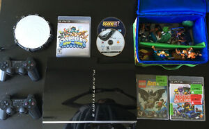 Sony PlayStation 3 PS3 with games incl Skylander