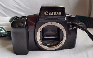 CANON ELAN EOS 35MM SLR CAMERA FILM BODY HIGH END ELECTRONIC