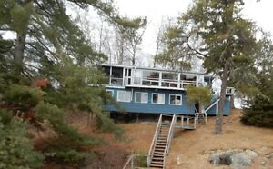 Lake of the Woods Lakefront cottage for rent