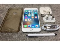 iphone 6Plus 16GB silver Locked on EE, Perfect working!