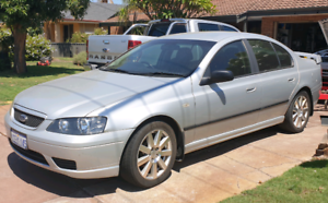 2006 Ford Falcon BF Sedan, silver, excellent cond, Must sell