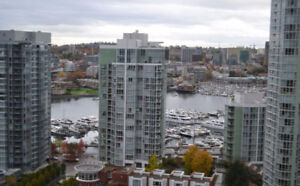 Yaletown Vancouver Furnished Condo Rental at Waterworks