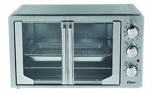 Oster French Door Countertop Oven with Convection-Stnless Steel