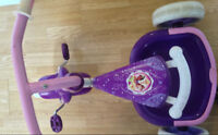 Disney princess tricycle for toddlers