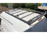 Trade Rack Galvanised Roof Rack for VW T5 LWB High Top