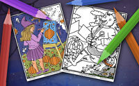 Halloween Colouring Contest for all ages! (prizes available)