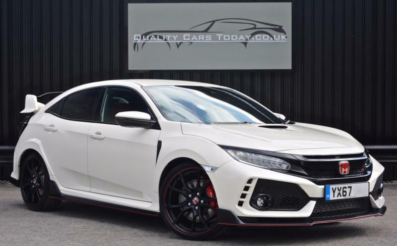 2017 67 Honda Civic Type R Gt 2 0 Vtec Turbo 320ps Champ White Vat Q