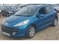 Peugeot 207 1.4 m:play 5Dr. GUARANTEED FINANCE payment between £17-£34 PW