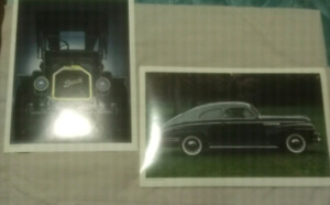 Car Prints of Old Style/Classic Buicks
