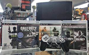 CONSOLE PLAYSTATION 3 250 GB & COLLECTION CALL OF DUTY ! 149.95$