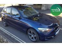 ONLY £277.06 PER MONTH BLUE 2013 BMW 116D 2.0 SPORT 5 DOOR DIESEL MANUAL