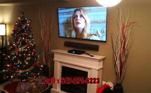 LED-LCD-Curve TV Wall Mounting & Neat Professional Installation