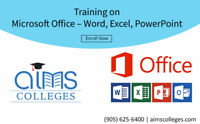 Microsoft Office | Word, Excel, PowerPoint | AIMS College