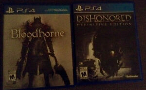 Bloodborne & Dishonored PS4