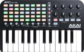 APC Key 25 AKAI Keyboard Controller