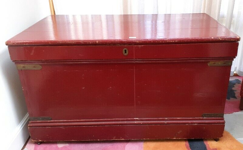 Antique Style Blanket Chest