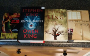 Stephen King and Owen King books for sale