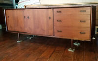 Exceptional MCM Teak Buffet/ Sideboard -REFINISHED