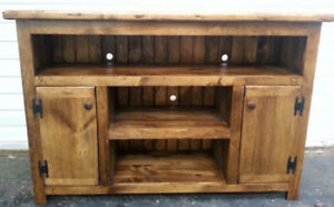 Handcrafted Entertainment Unit Save $100