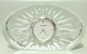 Waterford Marquis Crystal Clock Quartz Movement