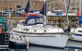 Gukfstar 43 ketch sailing yacht
