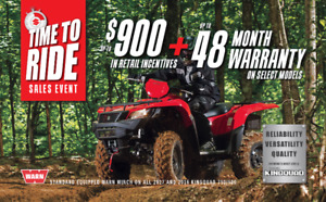 SUZUKI KINGQUAD - TIME TO RIDE EVENT