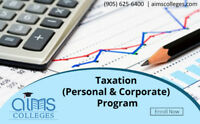Taxation (Personal & Corporate) Program | Enroll Now | AIMS