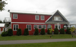 Magnificent house on the Miramichi river near Middle Island.