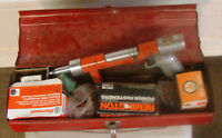 Ramset concrete nailer with lots of shot and fasteners