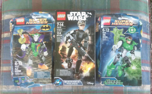 LEGO STAR WARS AND DC UNIVERSE SUPER HEROES BUNDLE