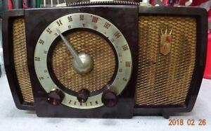 ZENITH 1951 AM FM RADIO