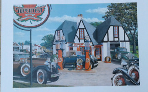 Supertest gasoline limited edition print