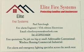 Electrician/Fire alarm engineer