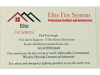 Electrician/Fire alarm engineer