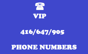 647 416 905 AREA CODE PHONE NUMBERS LUCKY MEMORABLE VIP