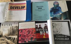 University Text Books: Psychology/Social Sciences (Ryerson)