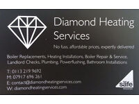 Diamond Heating Services - Outside Taps Fitted from £49 - Ex British Gas & E.ON Gas Safe Plumber