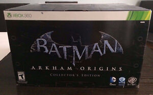 XBOX 360 BATMAN Arkham origins, COLLECTOR EDITION NISB