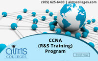 Hands-on CCNA R&S Training at AIMS College – CISCO Net Academy