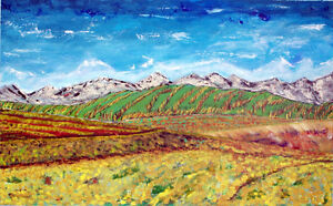 New large painting for sell! 48x30 in!