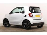 2017 White Smart Fortwo 0 9 T 90 Prime Premium 2dr Coupe Car Finance Fr 25