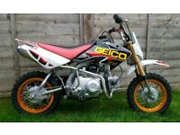 Crf50 kids pit bike 50cc 4 stroke 3 speed Honda rep