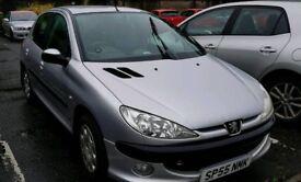 Peugeot 206, spares or repair