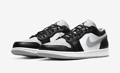Nike Air Jordan 1 Low Shadow Light Smoke Grey UK 10