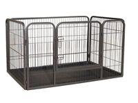 XL dog whelping cage. 126x60x90cm