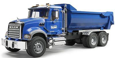 Bruder Toys MACK Granite Halfpipe Dump Truck Kids Play # 02823