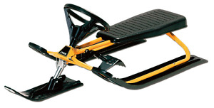 GT Snow Racers one black one yellow