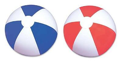 "(3) ASSORTED BEACH BALLS  16"" Pool Party Beachball NEW! #LN5 Free Shipping"