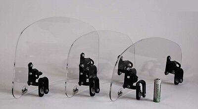 Wind screen deflector clear windshield windscreen LOW motorcycle motorbike